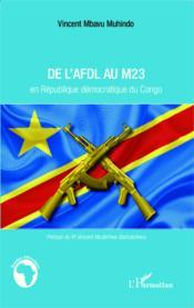 De l'AFDL au M23 en République démocratique du Congo - Couverture - Format classique