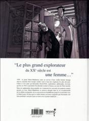 Une vie avec Alexandra David-Néel T.1 - 4ème de couverture - Format classique
