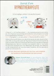 Journal d'une hypnothérapeute ; comprendre l'hypnose tout simplement ! - 4ème de couverture - Format classique