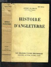 Histoire D Angleterre - Couverture - Format classique