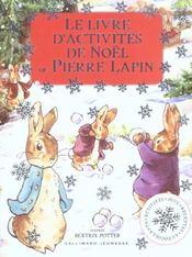 Le livre d'activités de noël de pierre lapin - Intérieur - Format classique