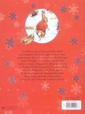 Le livre d'activités de noël de pierre lapin - 4ème de couverture - Format classique