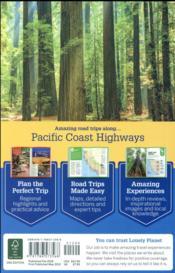 Pacific Coast highways road trips (2e édition) - 4ème de couverture - Format classique