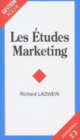 Les Etudes Marketing - Couverture - Format classique