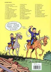 Les tuniques bleues t.1 ; un chariot dans l'ouest - 4ème de couverture - Format classique