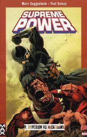 Supreme power t.8 ; Hyperion VS Nighthawk - Intérieur - Format classique