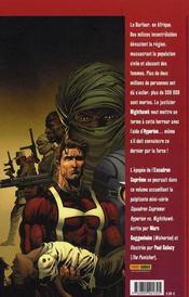 Supreme power t.8 ; Hyperion VS Nighthawk - 4ème de couverture - Format classique