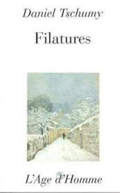 Filatures - Couverture - Format classique