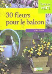 Fleurir son balcon - Intérieur - Format classique