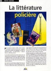 La littérature policière - Couverture - Format classique
