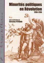 Minorités politiques en Révolution 1789-1799 - Intérieur - Format classique