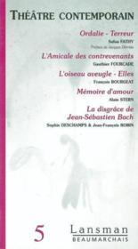 Beaumarchais theatre contemporain 5 - Couverture - Format classique