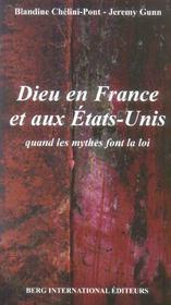 Dieu En France Et Aux Etats Unis - Intérieur - Format classique