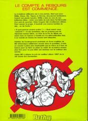Le club de la fin de siecle - 4ème de couverture - Format classique