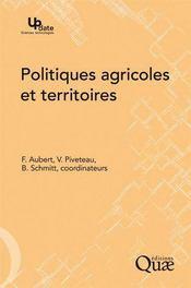 Politiques agricoles et territoires - Couverture - Format classique