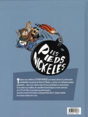 Les pieds nickelés VIP t.1 ; une aventure de Croquignol, Filochard & Ribouldingue - 4ème de couverture - Format classique