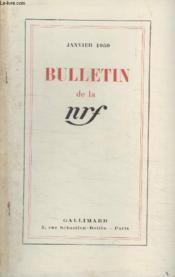 Bulletin Janvier 1950 N°31. - Couverture - Format classique