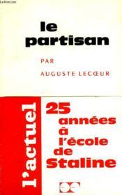 Le Partisan. - Couverture - Format classique