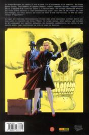 La ligue des gentlemen extraordinaires HORS-SERIE ; le dossier noir - 4ème de couverture - Format classique