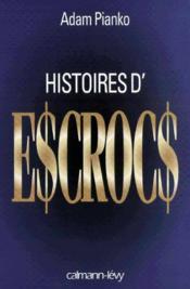Histoires D'Escrocs - Couverture - Format classique