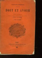 Doit Et Avoir - Couverture - Format classique