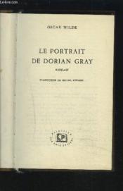 Le Portrait De Dorian Gray. - Couverture - Format classique