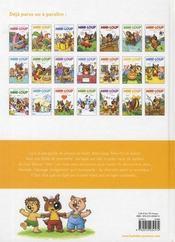 Mini-Loup et le lapin de Pâques - 4ème de couverture - Format classique