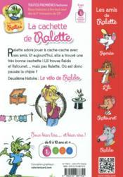 La cachette de Ralette - 4ème de couverture - Format classique