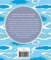 Mieux dormir ; 50 exercices de pleine conscience - 4ème de couverture - Format classique