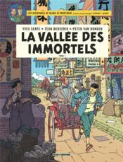 Blake et Mortimer T.25 ; la vallée des immortels t.1 - Couverture - Format classique