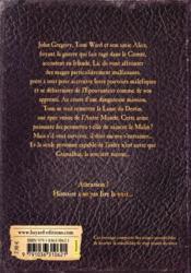 L'épouvanteur T.8 ; le destin de l'épouvanteur - 4ème de couverture - Format classique