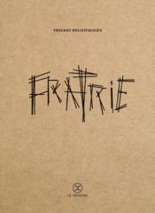 Fratrie - Couverture - Format classique