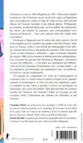 Nos mères ; Huguette, Christiane et tant d'autres, une histoire de l'émancipation féminine - 4ème de couverture - Format classique