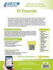 El francés ; B2 - 4ème de couverture - Format classique