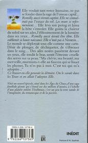 La belle fauconniere - tome 3 - vol03 - 4ème de couverture - Format classique