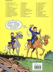 Les tuniques bleues t.2 ; du nord au sud - 4ème de couverture - Format classique
