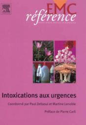 Intoxications aux urgences - Couverture - Format classique