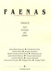 Faenas t.6 ; nimeño II ; ceci n'est pas une statue - Intérieur - Format classique