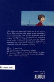 La liberté Juliette - 4ème de couverture - Format classique