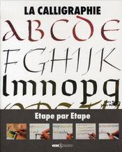 La calligraphie étape par étape - Intérieur - Format classique
