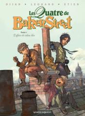 Les quatre de Baker Street T.1 ; l'affaire du rideau bleu - Couverture - Format classique