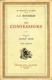 Les Confessions, Tome Iii - Couverture - Format classique