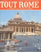 Tout Rome Et Le Vatican - Couverture - Format classique