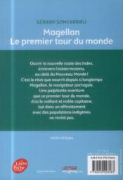 Magellan ; le premier tour du monde - 4ème de couverture - Format classique