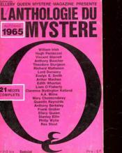 L'Anthologie Du Mystere - N°213 Bis - Couverture - Format classique