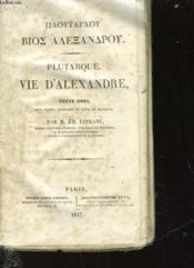 Vie D'Alexandre - Couverture - Format classique