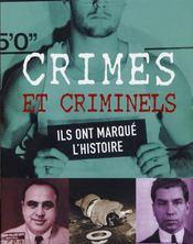 Crimes et criminels - Intérieur - Format classique