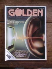 GOLDEN N° 10 le magazine des utilisateurs d'ordinateurs personnels APPLE et compatibles - Couverture - Format classique