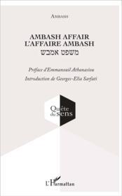 Ambash affair ; l'affaire ambash - Couverture - Format classique