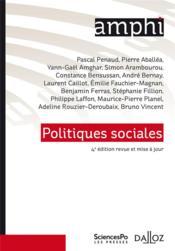 Politiques sociales (4e édition) - Couverture - Format classique